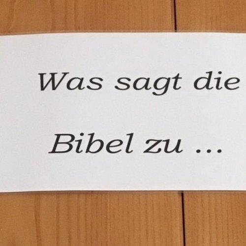Bild zum Weblog Was sagt die Bibel zu den Lehrfächern?