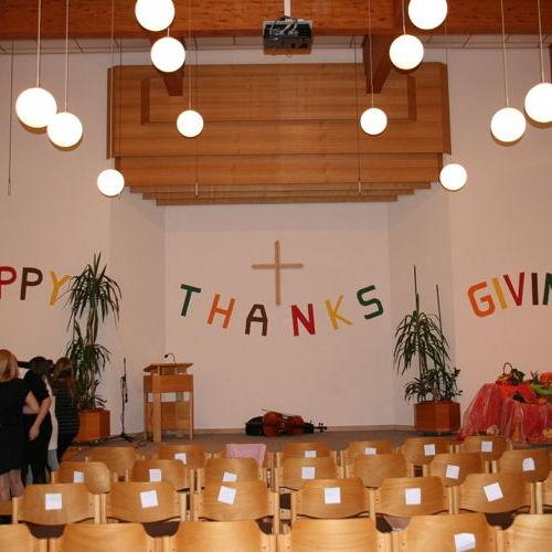 Bild zum Weblog THANKSGIVING 2011