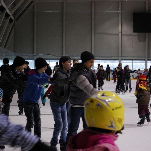 Bild zum Weblog Winter in der Privatschule Arche Noah - Kagran
