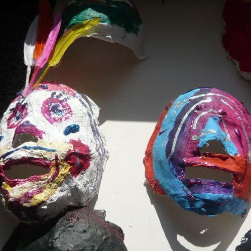 Bild zum Weblog Gipsmasken