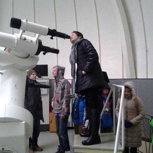 Bild zum Weblog Besuch der Urania Sternwarte