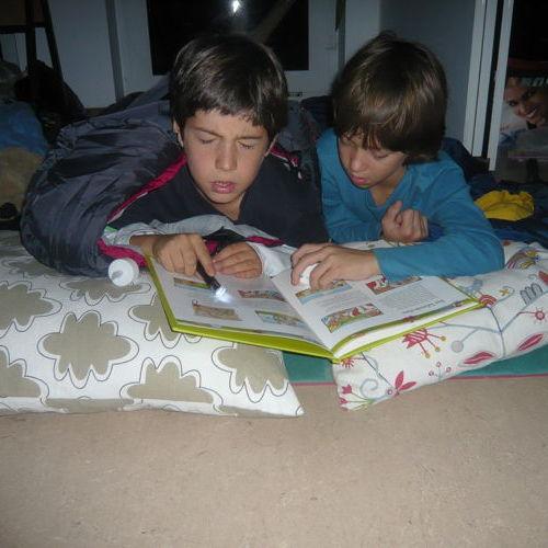 Bild zum Weblog Unsere Lesenacht
